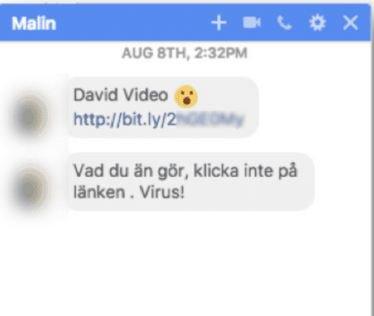 Facebook : un dangereux malware Windows, Mac et Linux se répand via Messenger