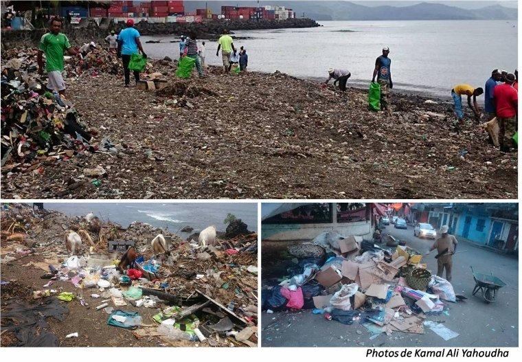 Proposition autour de la problématique des déchets urbains de Mutsamudu