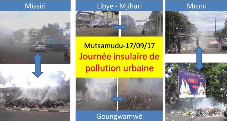 Anjouan : Journée insulaire de pollution urbaine et de tourisme