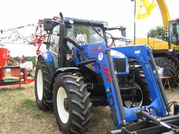 new holande T 6020  avec chargeur MX 10