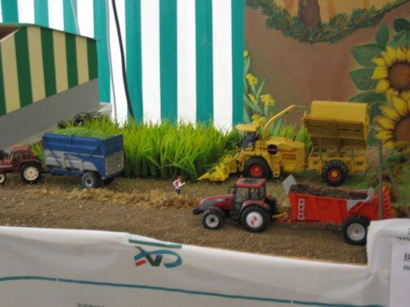ensilage avec des tracteurs SIKU
