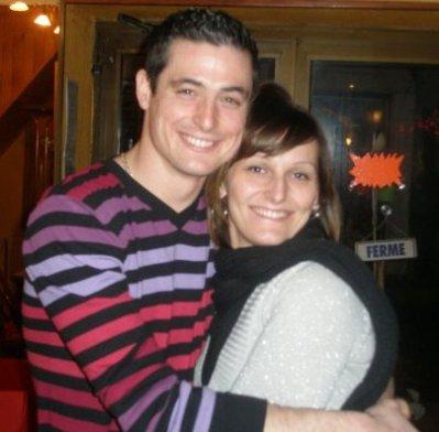 DAniel et Axel sa femme !!