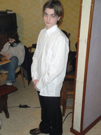 Cedrik habiller classe!!