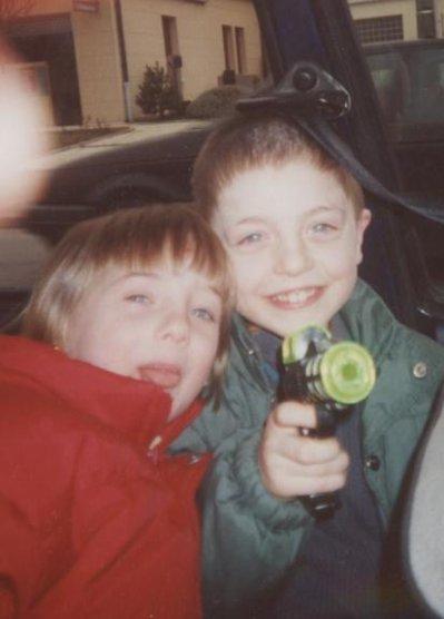 Ced et Moi plus jeune!