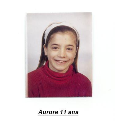 Aurore plus jeune (11ans)