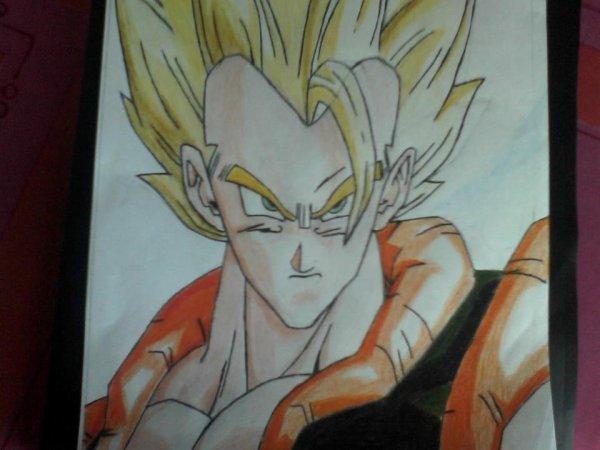 Gogeta dessin en couleur dessin - Dessin dragon couleur ...