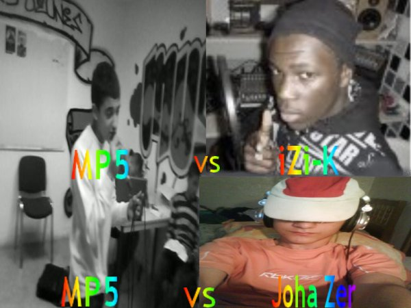 ~ mp5 VS iZi-K &éé mp5 VS Joha Zer