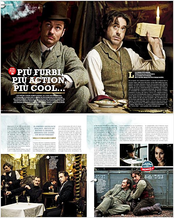 """. Robert fait la couverture du magazine """"Best movie"""" de l'édition de Novembre le reste des articles de ce magazine concernant Robert seront bientôt disponibles ."""