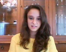 Elif Bilgin, 16, Turkey, Creating Bioplastics from Banana Peel
