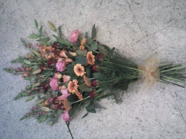 devant de tombe, coeur et coussin, pour deuil
