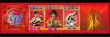 """"""" Trois dragons""""de Chine: Bruce Lee, Jackie Chan et Tommy Tom.中国""""三条龙"""":李小龙,成龙,狄龙.Ils ont une allure superbe et rayonnante!!! 他们都英姿焕发!.!..!..."""