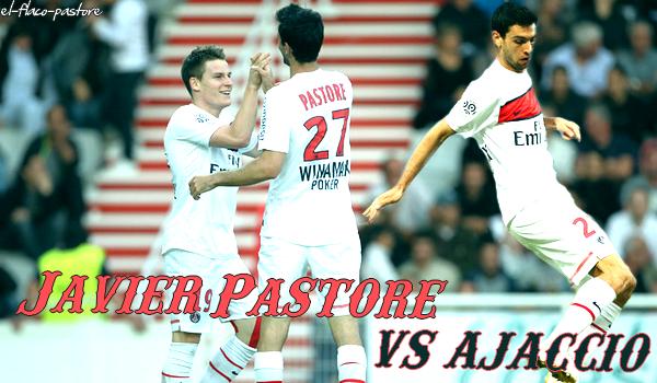 10ème journée de L1, AC Ajaccio - Paris Saint-Germain : 1-3 (1-1)