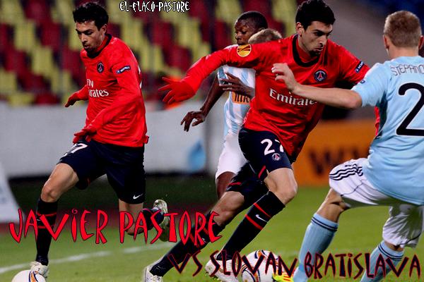 3ème journée de l'EUROPA LEAGUE, Slovan Bratislava - Paris Saint-Germain : 0-0