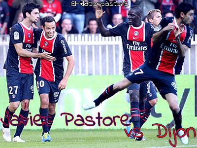 11ème journée de L1, Paris Saint-Germain - Dijon : 2-0 (1-0)