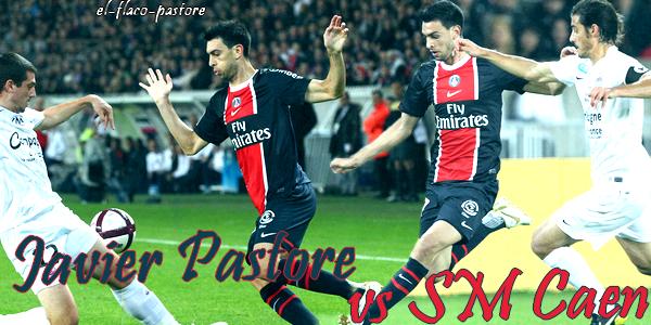 12ème journée de L1, Paris Saint-Germain - SM Caen : 4-2 (1-1)