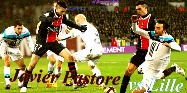 18 ème journée de L1, Paris Saint-Germain - Lille OSC : 0-0 (0-0)