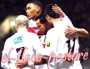 1/32ème de finale de la COUPE DE FRANCE, Locminé Saint-Colomban - Paris Saint-Germain : 1-2 (0-0)