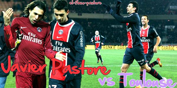 20ème journée de L1, Paris Saint-Germain - Toulouse FC : 3-1 (1-0)