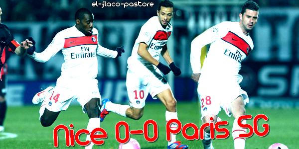 23ème journée de L1, OGC Nice - Paris Saint-Germain : 0-0 (0-0)