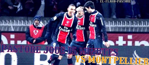 24ème journée de L1, Paris Saint-Germain - Montpellier HSC : 2-2 (1-1)