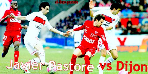 27ème journée de L1, Dijon - Paris Saint-Germain : 1-2 (0-0)