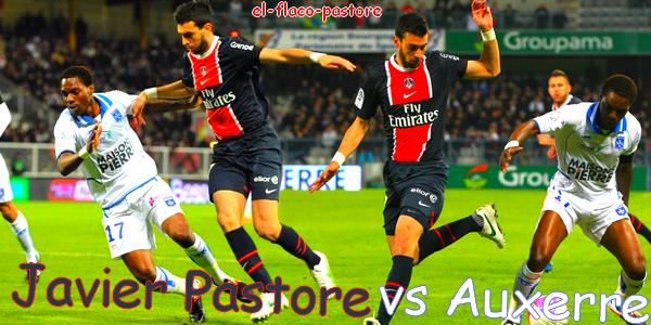 32ème journée de L1, Auxerre - Paris Saint-Germain : 1-1 (0-1)