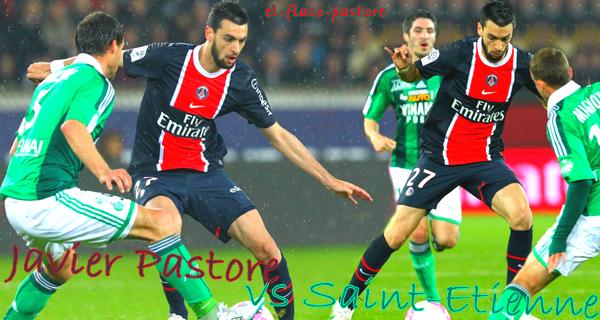 35ème journée de L1, Paris Saint-Germain - Saint-Etienne : 2-0 (1-0)