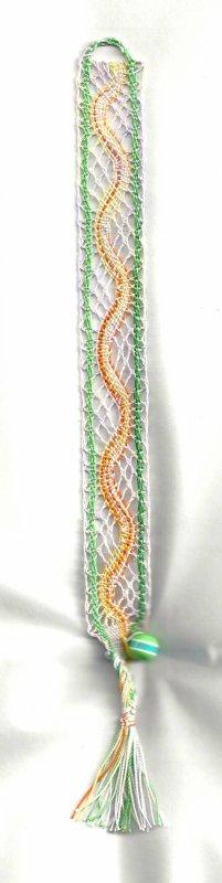Dentelle Milanaise :  bracelet (suite 2)