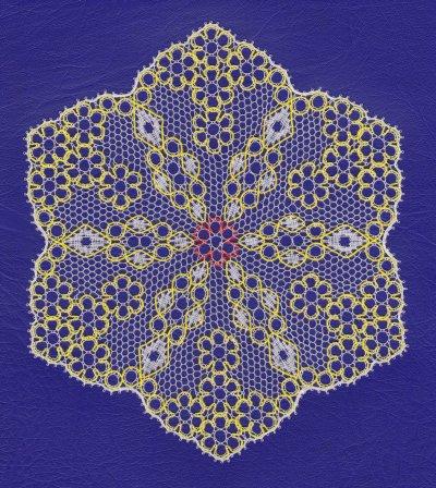 Un hexagone en Fond Clair (fin)