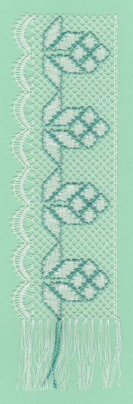 Exercices passage du cordonnet : la frise fleurie (fin)