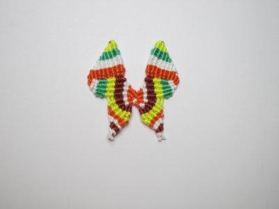 Macramé : le papillon 1