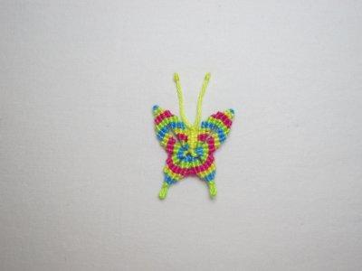Macramé : le papillon 2