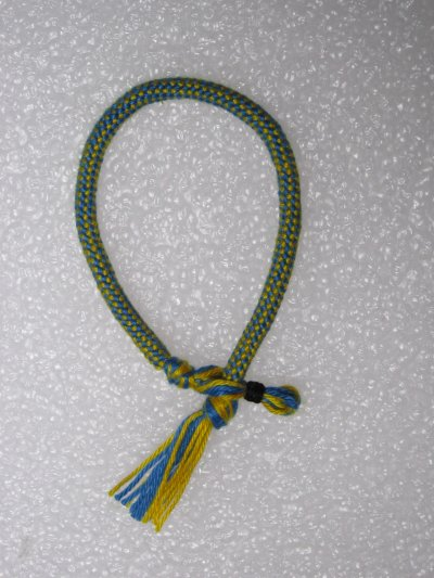 Kumihimo : bracelet creux 1