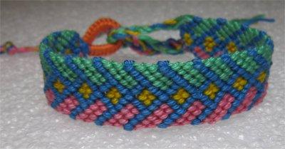 Macramé : bracelet 6