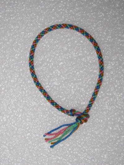 Kumihimo : bracelet 7