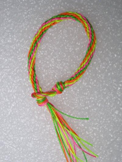 Kumihimo : bracelet 12