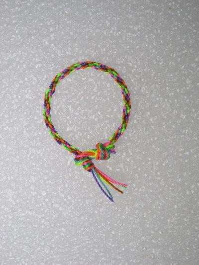 Kumihimo : bracelet 15