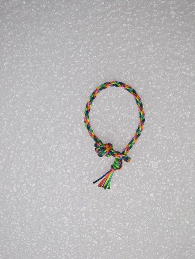 Kumihimo : bracelet 17