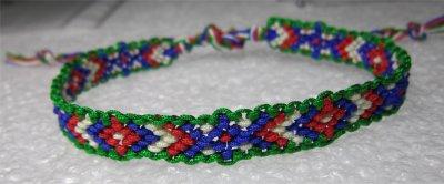 Macramé : bracelet 10