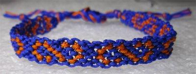 Macramé : bracelet 12
