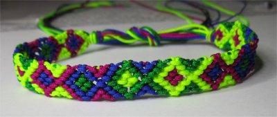 Macramé : bracelet 14
