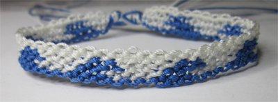 Macramé : bracelet 16