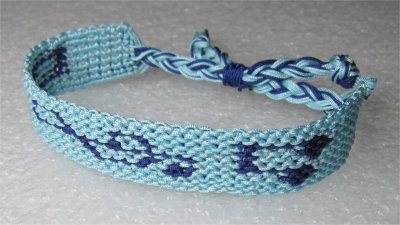 Macramé : bracelet 17
