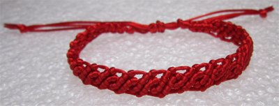 Macramé : bracelet 19