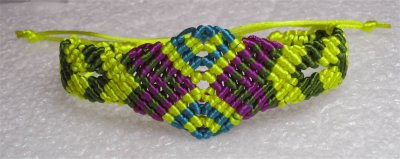 Macramé : bracelet 21