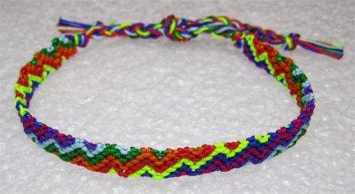 Macramé : bracelet 22
