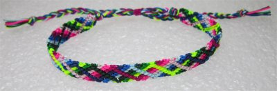 Macramé : bracelet 24