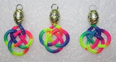 Macramé : Noeuds celtiques multicolores 1 à 3