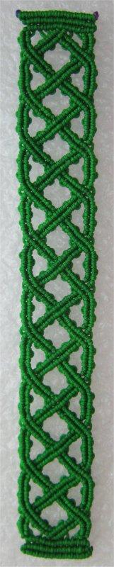 Macramé : bracelet celtique 1
