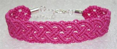 Macramé : bracelet celtique 11 monté
